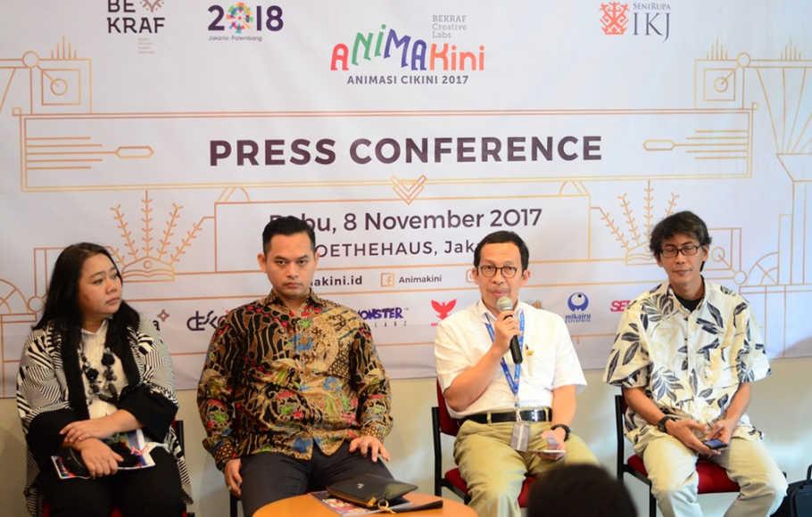 Animakini, Wujud Cinta Bekraf pada Animasi Indonesia